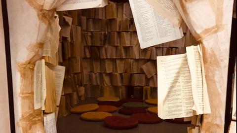 Historier fra hele verden i Carte Blanches eventyrlige boglabyrint